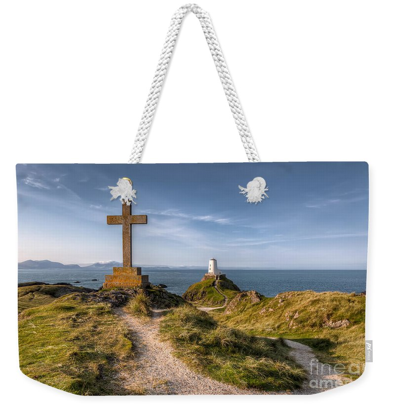 Anglesey Weekender Tote Bag featuring the photograph Llanddwyn Island by Adrian Evans