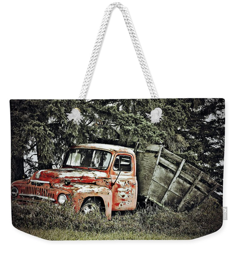 Photographer Weekender Tote Bag featuring the photograph Load Of Roots by The Artist Project