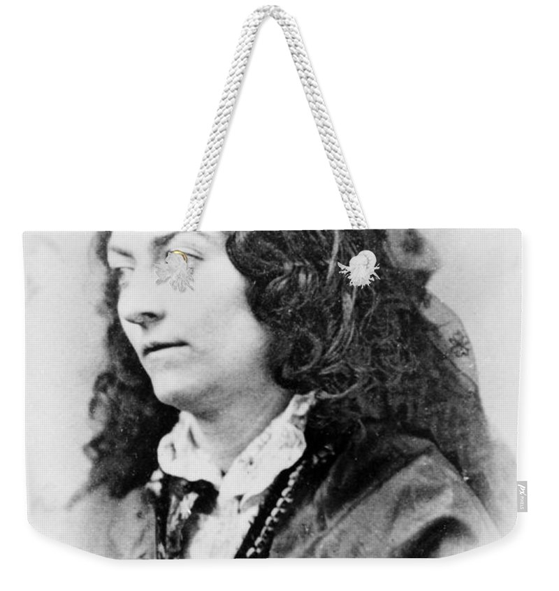 19th Century Weekender Tote Bag featuring the photograph Lola Montez (1818-1861) by Granger