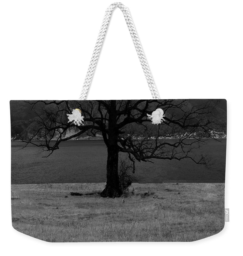 Tn Weekender Tote Bag featuring the photograph Lonely by Ericamaxine Price