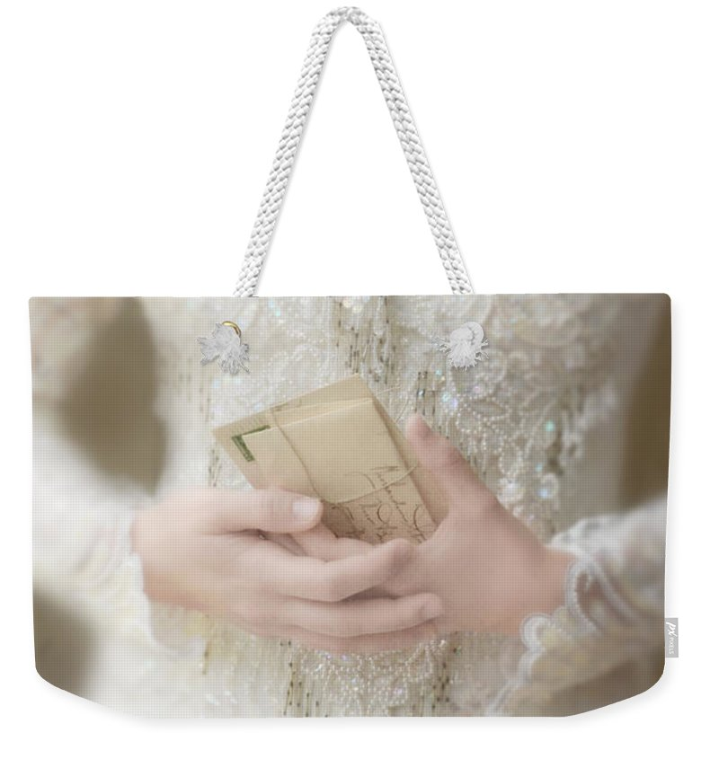 Beautiful Weekender Tote Bag featuring the photograph Love Letters by Jill Battaglia