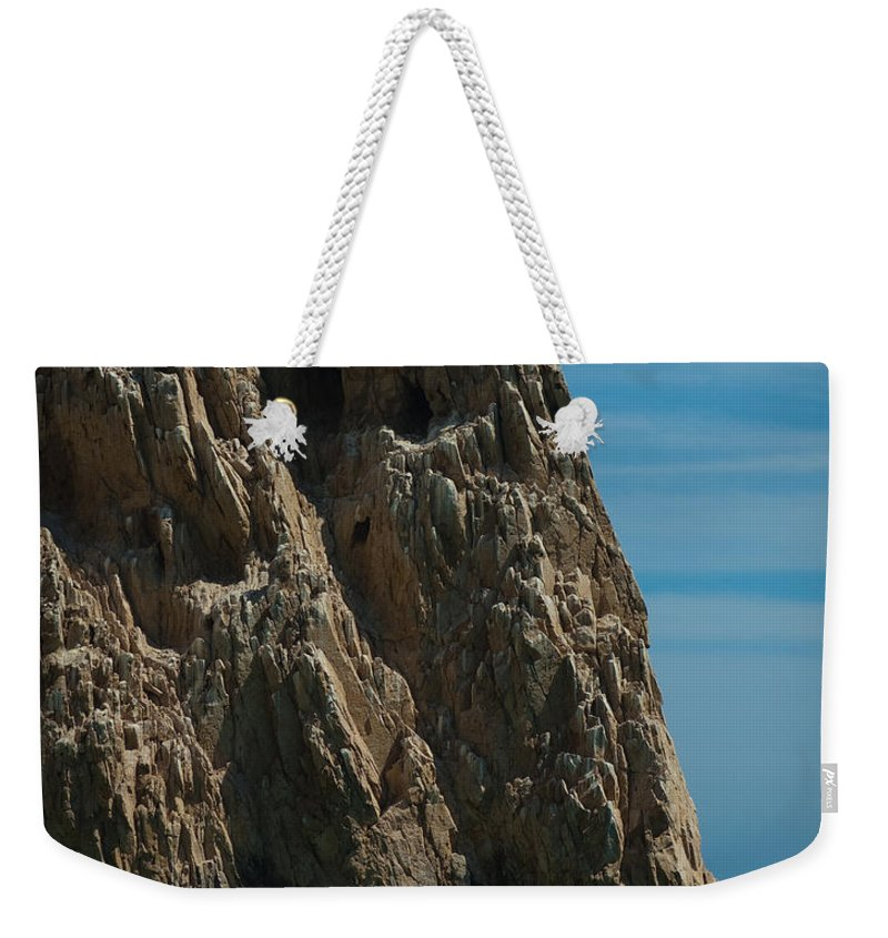 Beach Weekender Tote Bag featuring the photograph Lovers Beach by Sean Wray