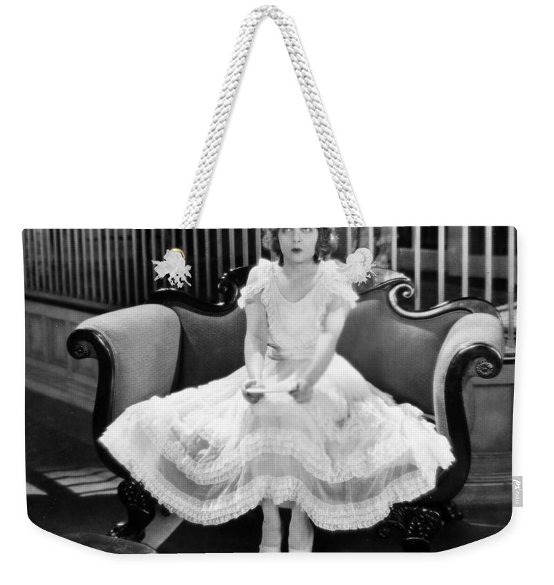 -women Single Figures- Weekender Tote Bag featuring the photograph Loves Wilderness, 1924 by Granger