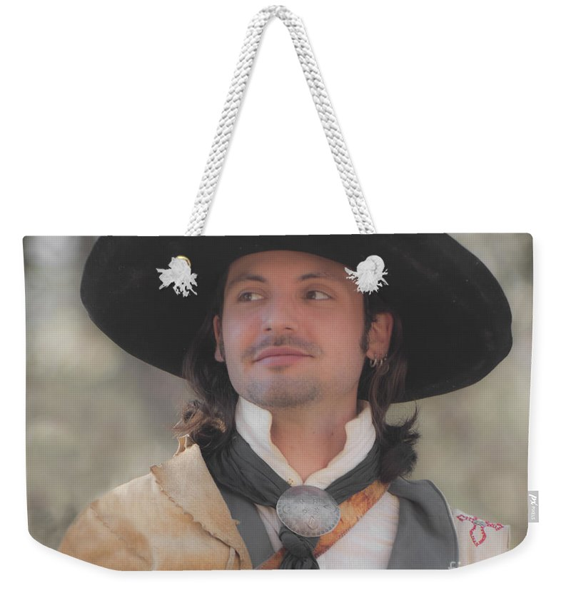 Reenactor Weekender Tote Bag featuring the photograph Loving This by Kim Henderson