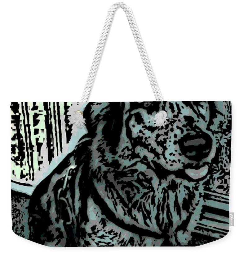 Loyal Weekender Tote Bag featuring the photograph Loyalty by George Pedro