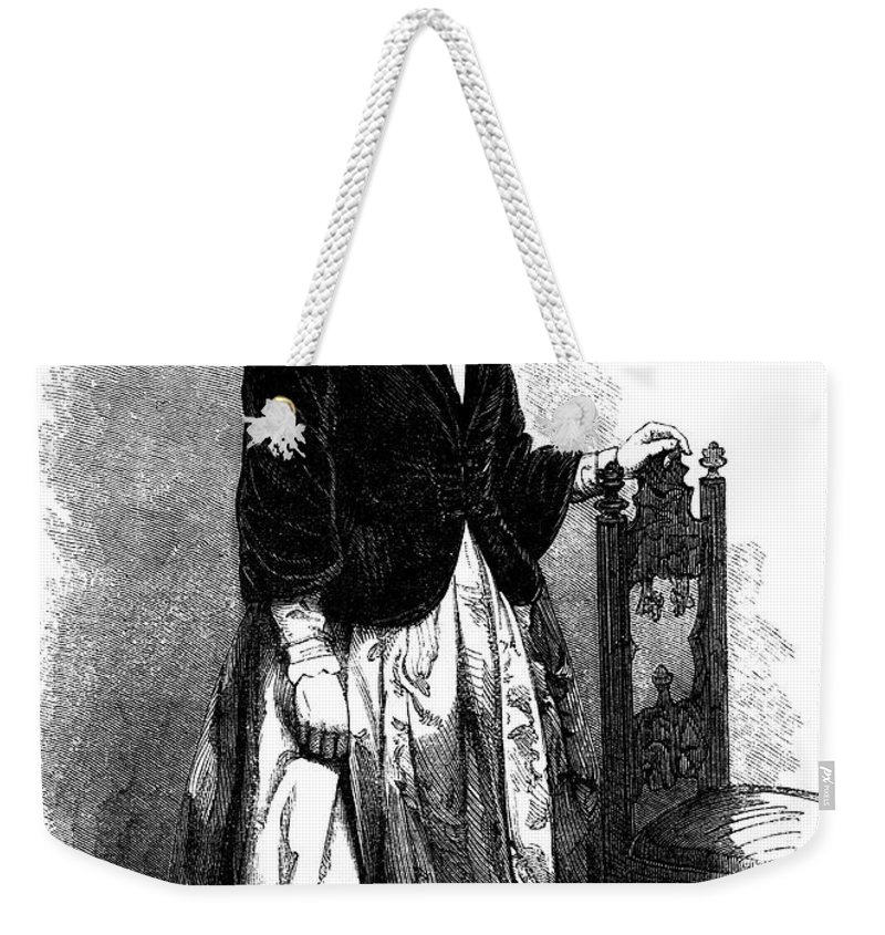 1853 Weekender Tote Bag featuring the photograph Lucy Stone (1818-1893) by Granger
