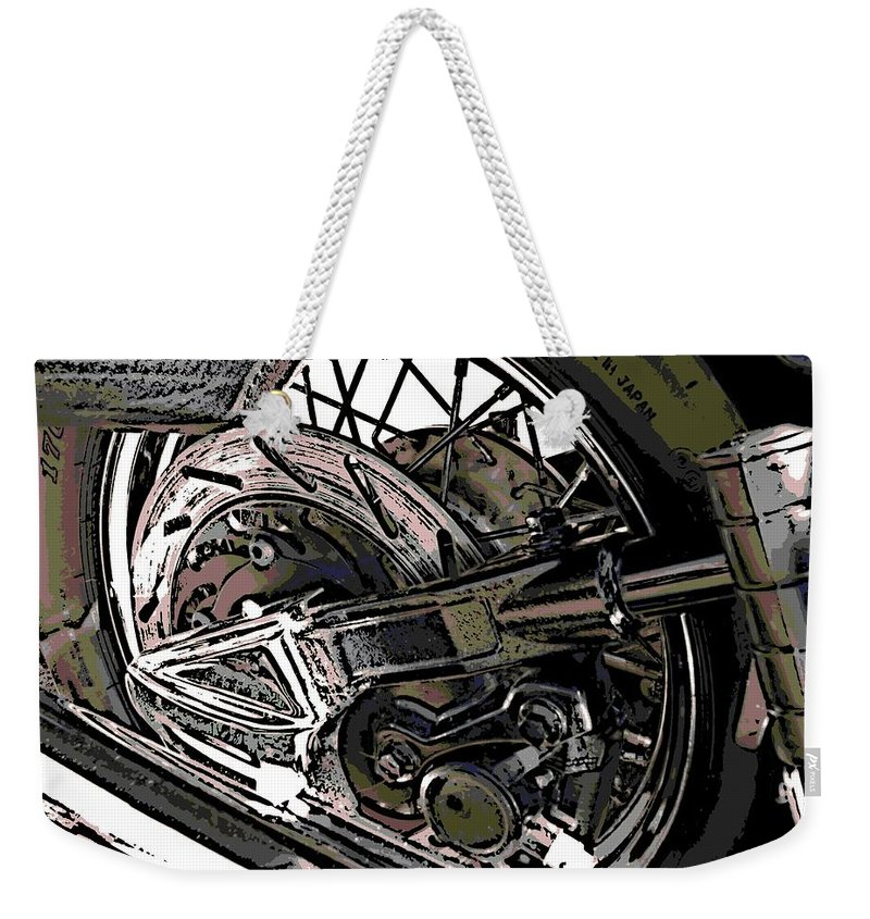Japan Weekender Tote Bag featuring the photograph Made In Japan by George Pedro