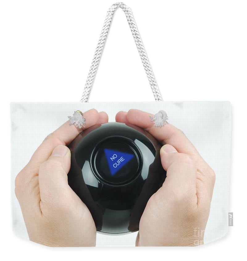 Magic Eight Ball, No Cure Weekender Tote Bag