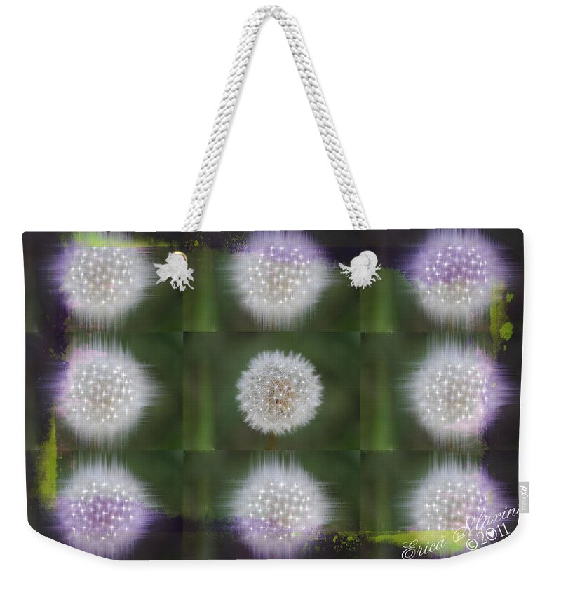 Plant Weekender Tote Bag featuring the photograph Make A Wish by Ericamaxine Price