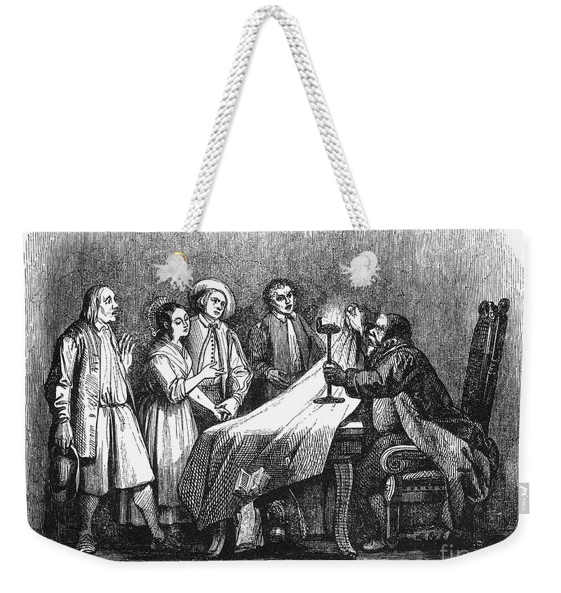 1840 Weekender Tote Bag featuring the photograph Manzoni: I Promessi Sposi by Granger