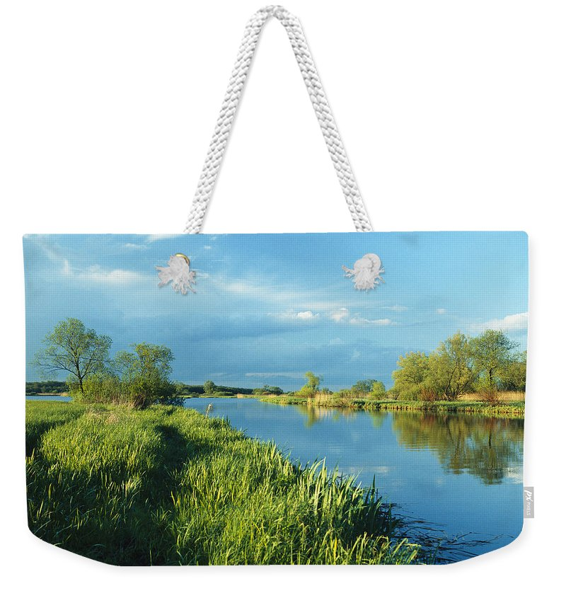 Europe Weekender Tote Bag featuring the photograph Marshlands In Spring, Unteres Odertal by Norbert Rosing