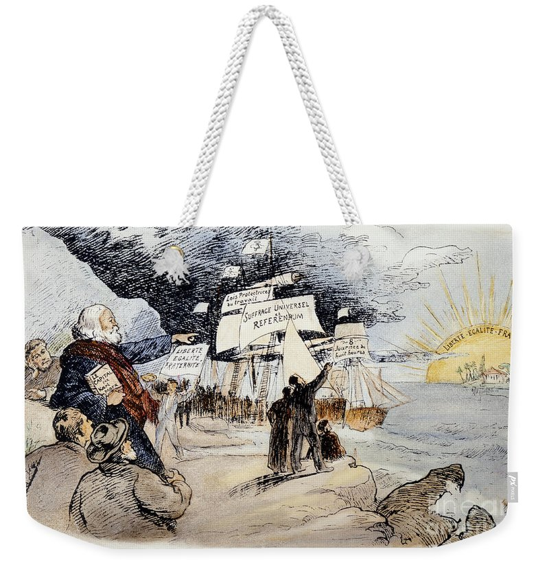 1891 Weekender Tote Bag featuring the photograph Marxism, C1891 by Granger