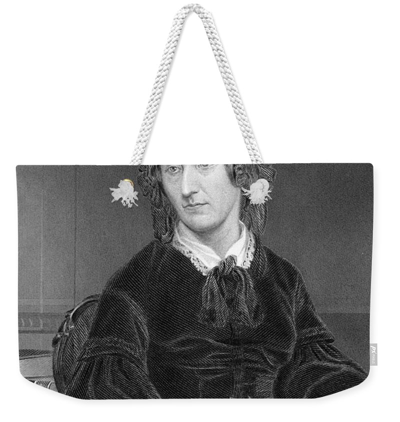 Science Weekender Tote Bag featuring the photograph Mary Somerville, Scottish Polymath by Science Source