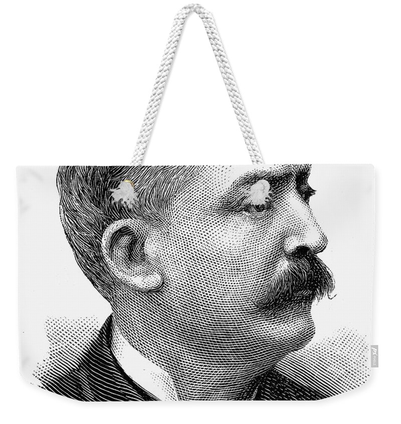 1889 Weekender Tote Bag featuring the photograph Matthew Stanley Quay by Granger