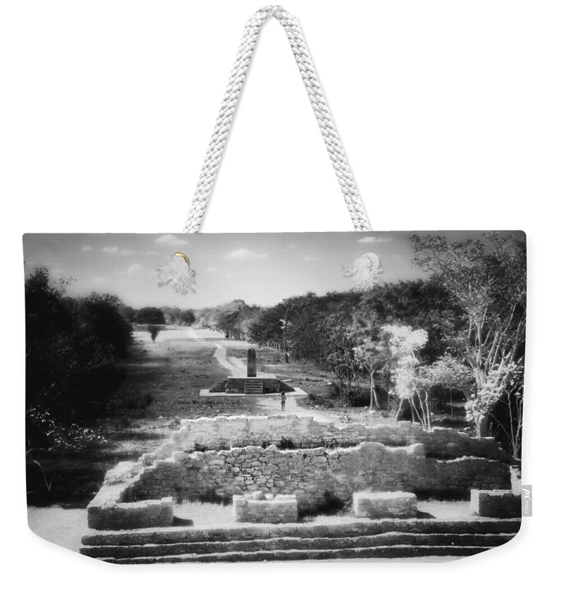 Mayan Weekender Tote Bag featuring the photograph Mayan Dreams by Jason Politte