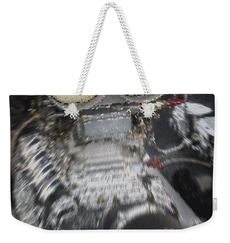 Mean Weekender Tote Bag featuring the photograph Mean Engine by Mick Anderson