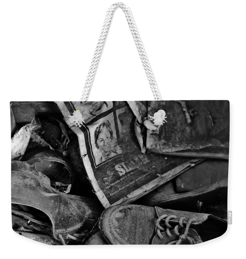 Street Photographer Framed Prints Weekender Tote Bag featuring the photograph Memories Of Sin by The Artist Project