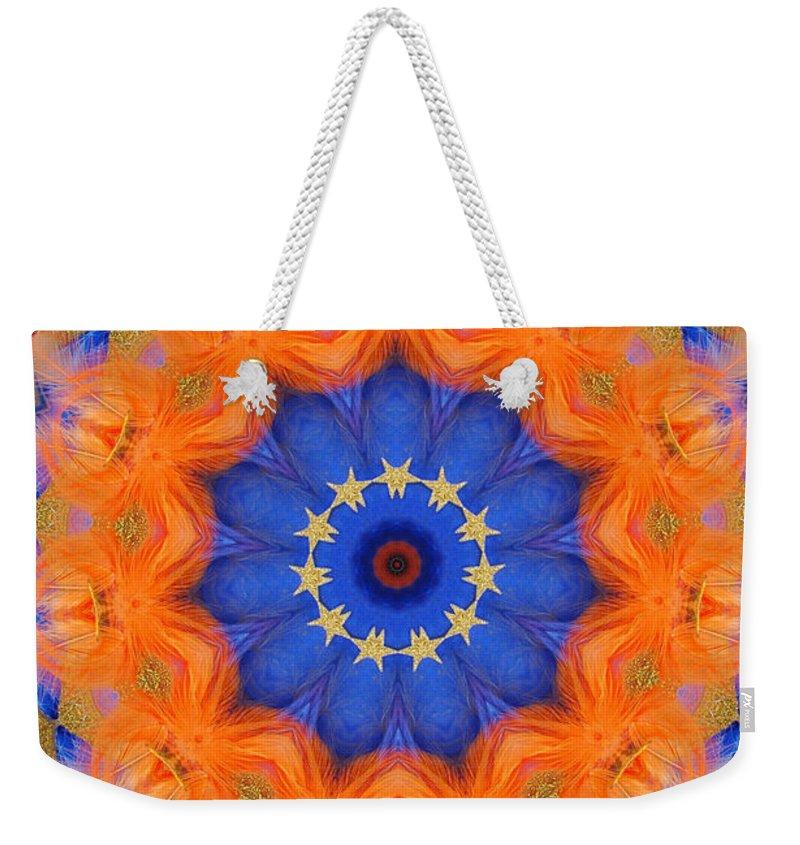 Kaleidoscope Weekender Tote Bag featuring the photograph Mermaid 1 by Mark Gilman