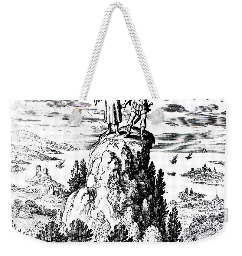 History Weekender Tote Bag featuring the photograph Microcosm, Macrocosm, 17th Century by Science Source