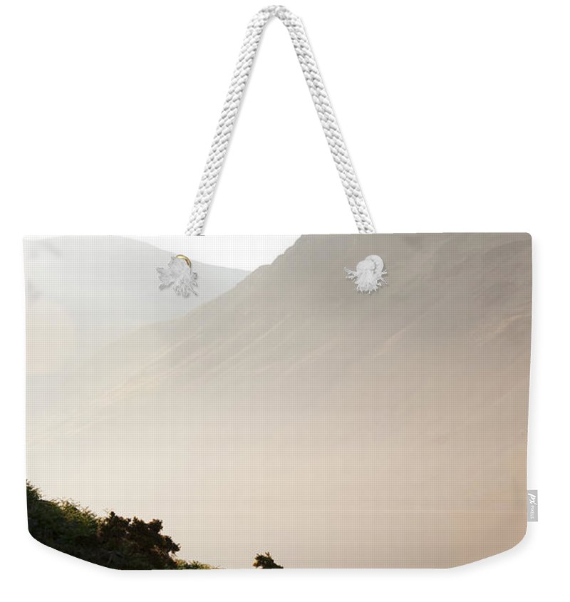 Country Weekender Tote Bag featuring the photograph Mist by Svetlana Sewell