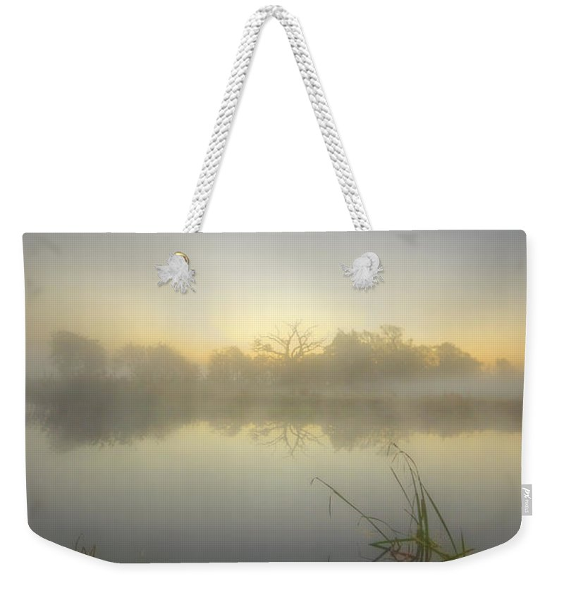 Sunrise Weekender Tote Bag featuring the photograph Misty Dawn 4.1 by Yhun Suarez