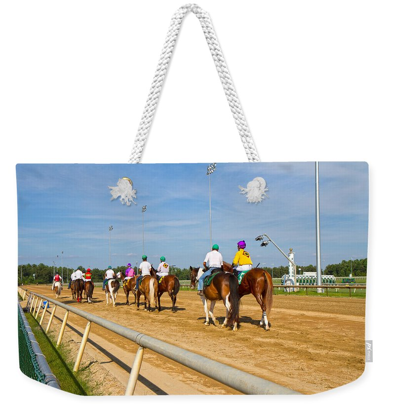 Post Weekender Tote Bag featuring the photograph Moments Before by Betsy Knapp