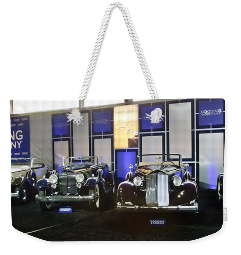 Weekender Tote Bag featuring the photograph Moretti 02 by Jill Reger