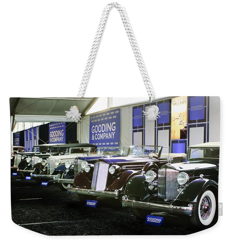 Weekender Tote Bag featuring the photograph Moretti 03 by Jill Reger