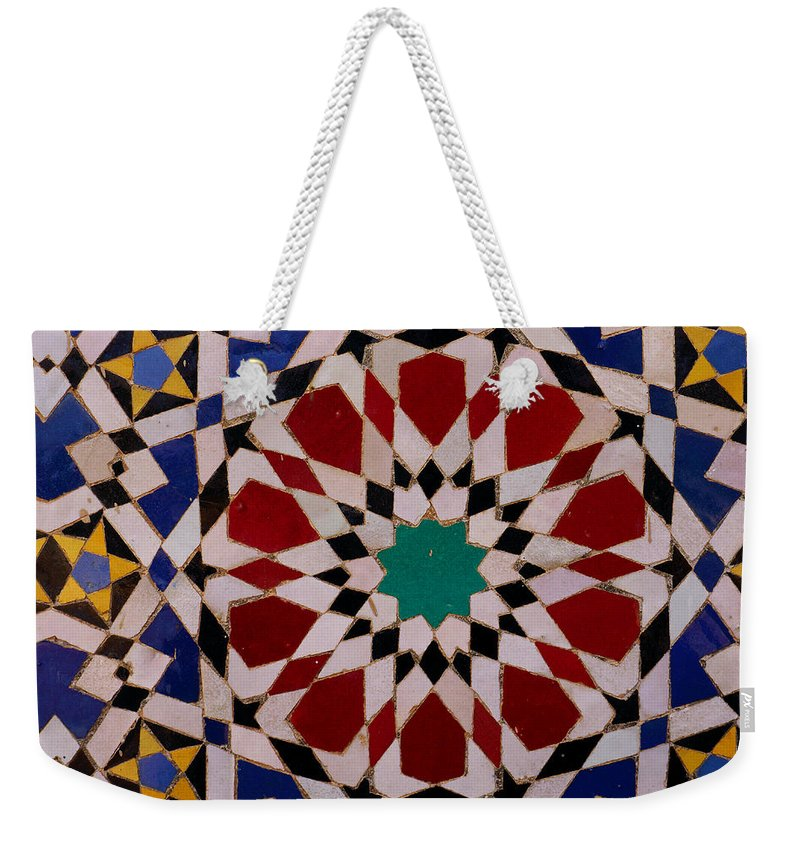 Mosaic Weekender Tote Bag featuring the photograph Mosaic by Ivan Slosar