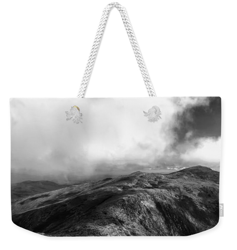 New Hampshire Weekender Tote Bag featuring the photograph Mount Adams New Hampshire by Stephanie McDowell