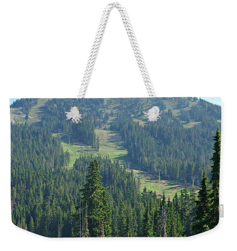 Mt. Washington Weekender Tote Bag featuring the photograph Mt. Washington by Marilyn Wilson