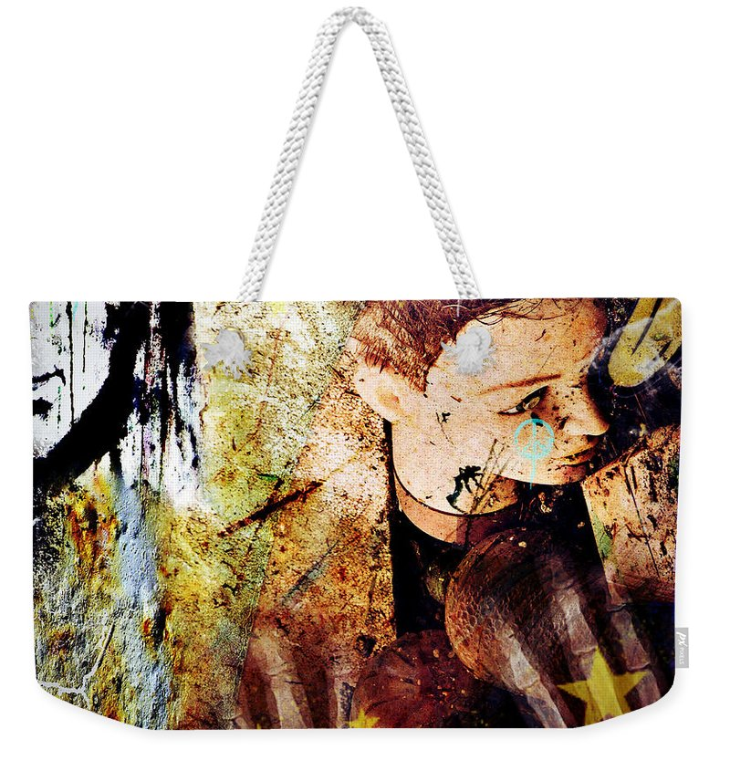 Art Photographs Photographs Framed Prints Photographs Framed Prints Framed Prints Framed Prints Photographs Framed Prints Framed Prints Framed Prints Photographs Photographs Photographs Framed Prints Weekender Tote Bag featuring the photograph My Mangled Broken Bones by The Artist Project