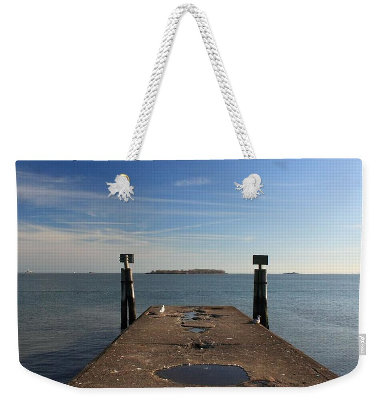 Island Weekender Tote Bag featuring the photograph Mysterious Island by Robert McCulloch