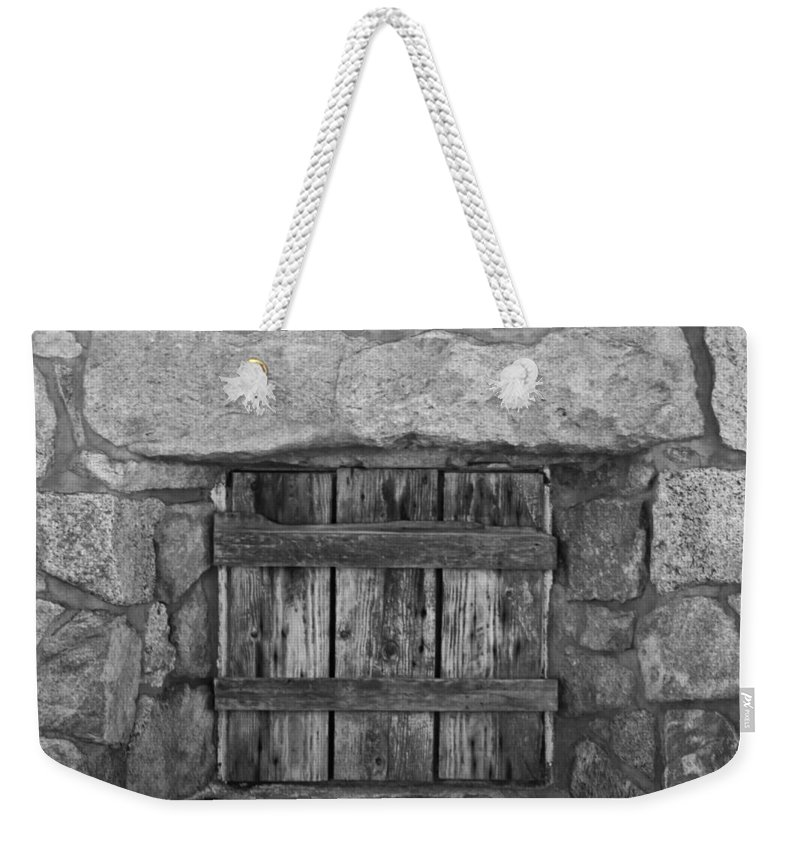 Door Weekender Tote Bag featuring the photograph Mystery Door by Colleen Coccia