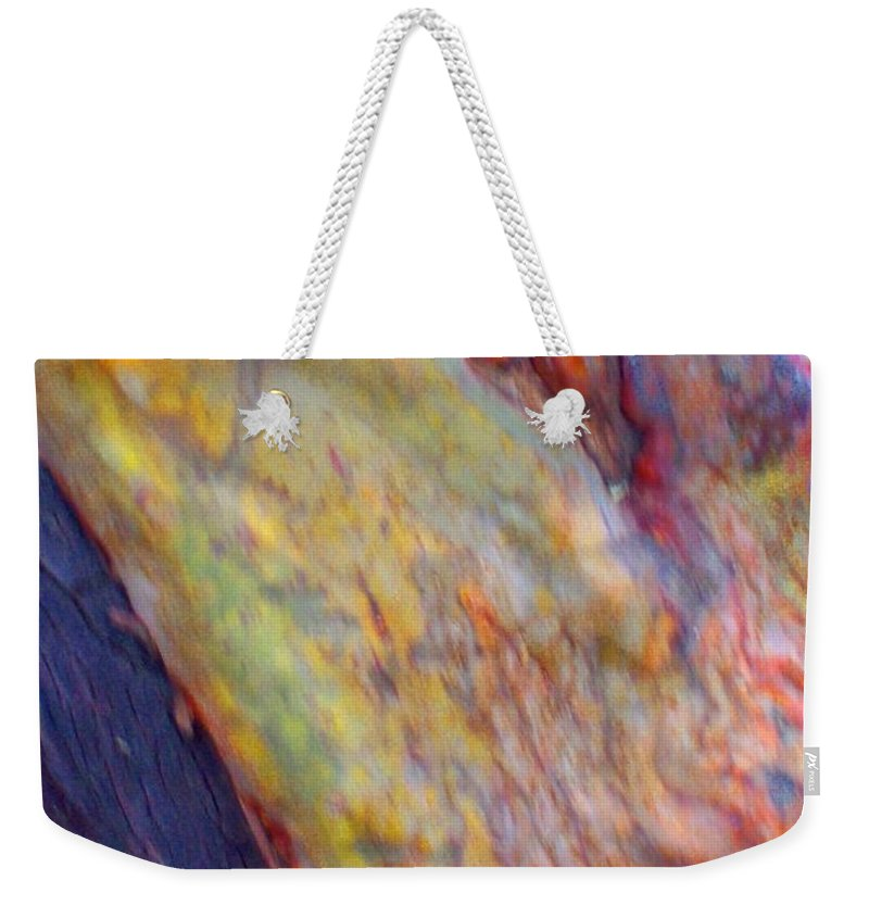 Nature Weekender Tote Bag featuring the digital art Mystics Of The Night by Richard Laeton