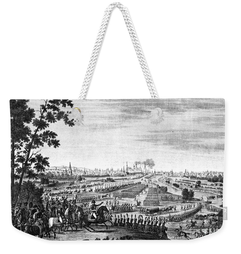 1812 Weekender Tote Bag featuring the photograph Napoleon: Moscow, 1812 by Granger
