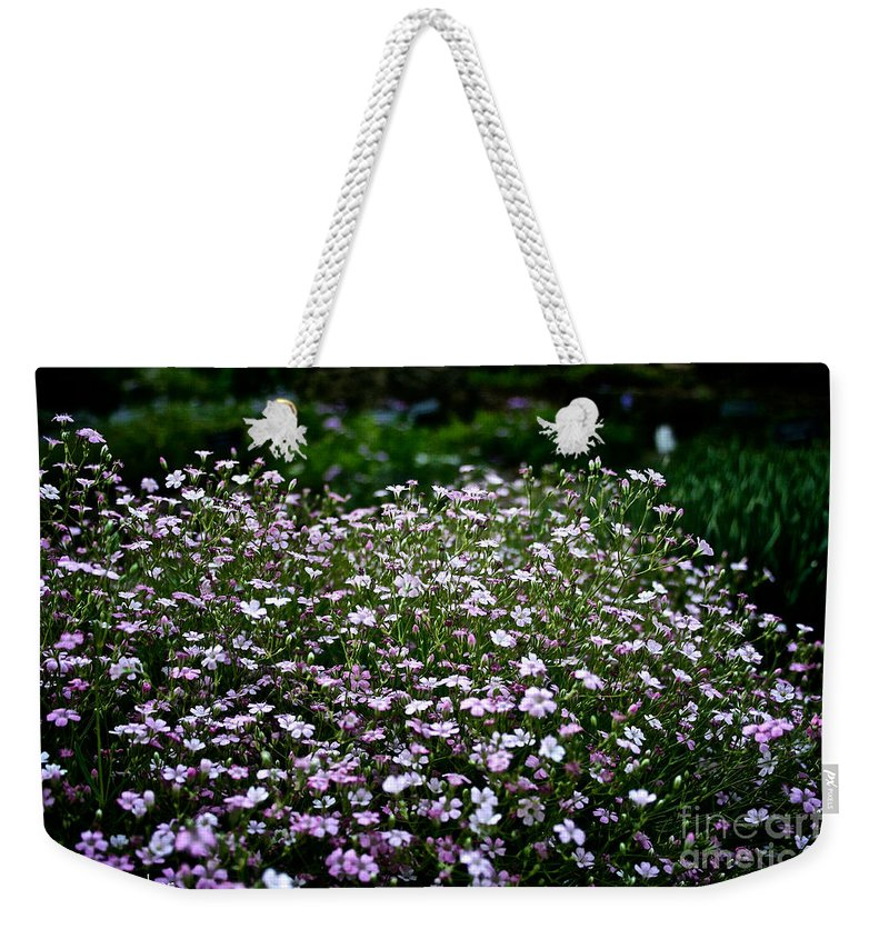 Plant Weekender Tote Bag featuring the photograph Natural Carpet by Susan Herber