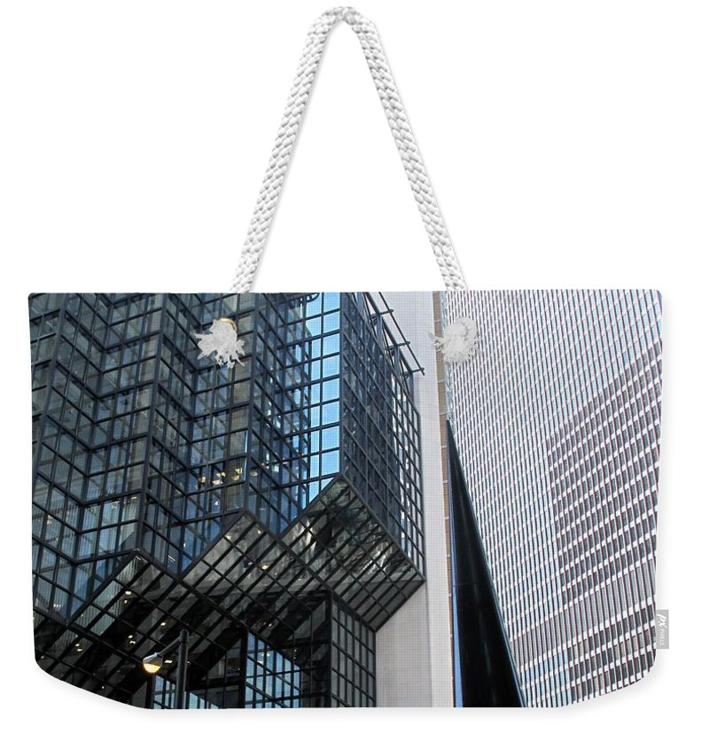 Architecture Weekender Tote Bag featuring the photograph Naturally Abstract by Ian MacDonald