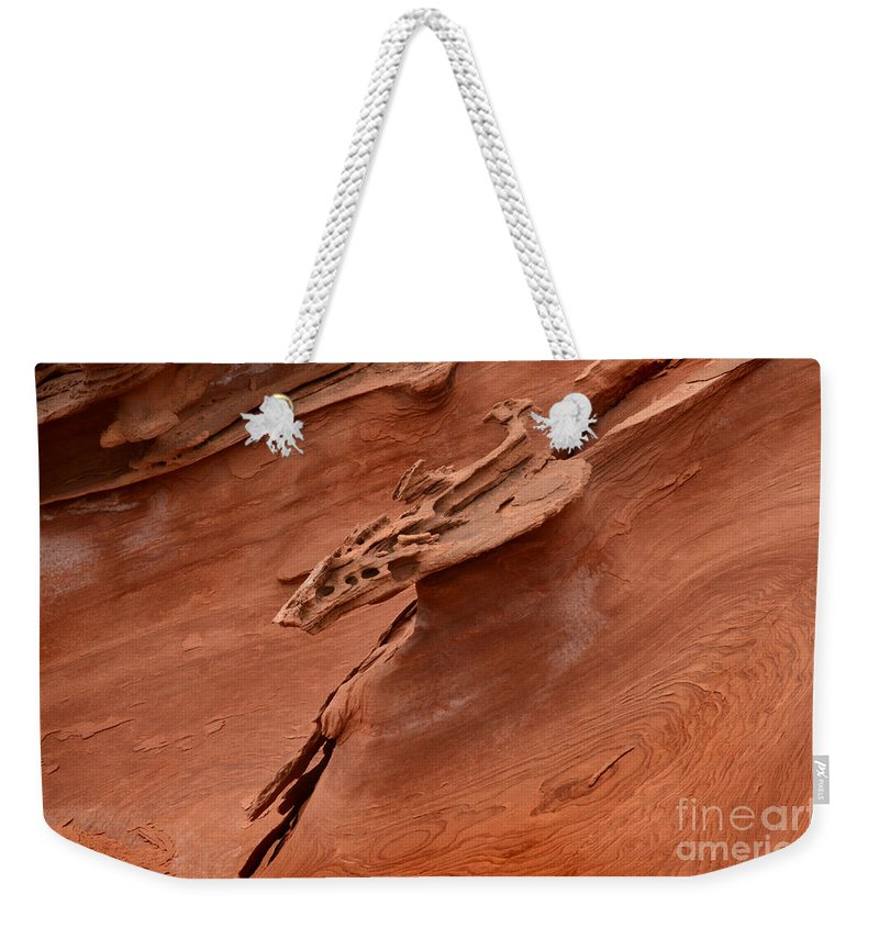 Little Finland Weekender Tote Bag featuring the photograph Natures Artwork by Bob Christopher