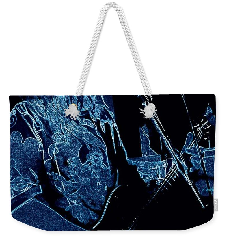 Sue Corbett Weekender Tote Bag featuring the photograph Sue by Chris Berry