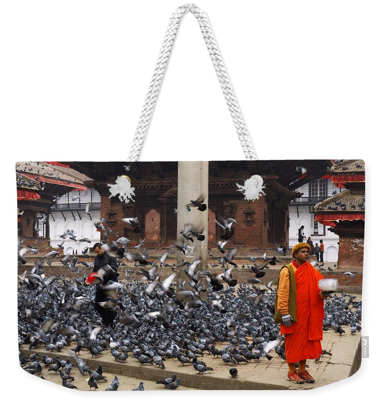 Ancient Weekender Tote Bag featuring the photograph Nepal by Ivan Slosar