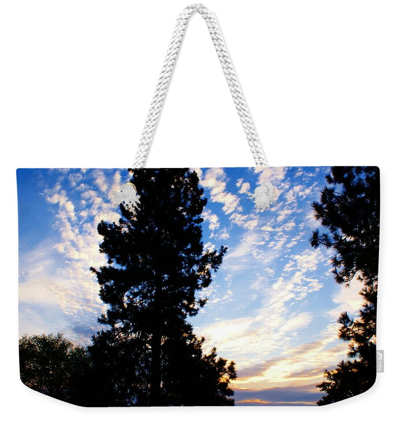 Sunrise Weekender Tote Bag featuring the photograph New Dawn Rising by Ben Upham III