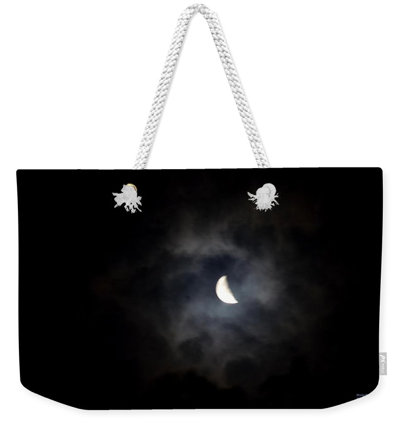 Night Weekender Tote Bag featuring the photograph Night Of Derecho by Maria Urso