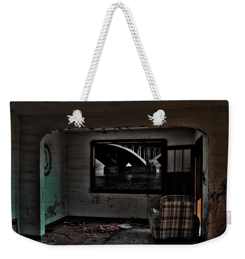 1984 Weekender Tote Bag featuring the photograph Nineteen Eighty Four by The Artist Project
