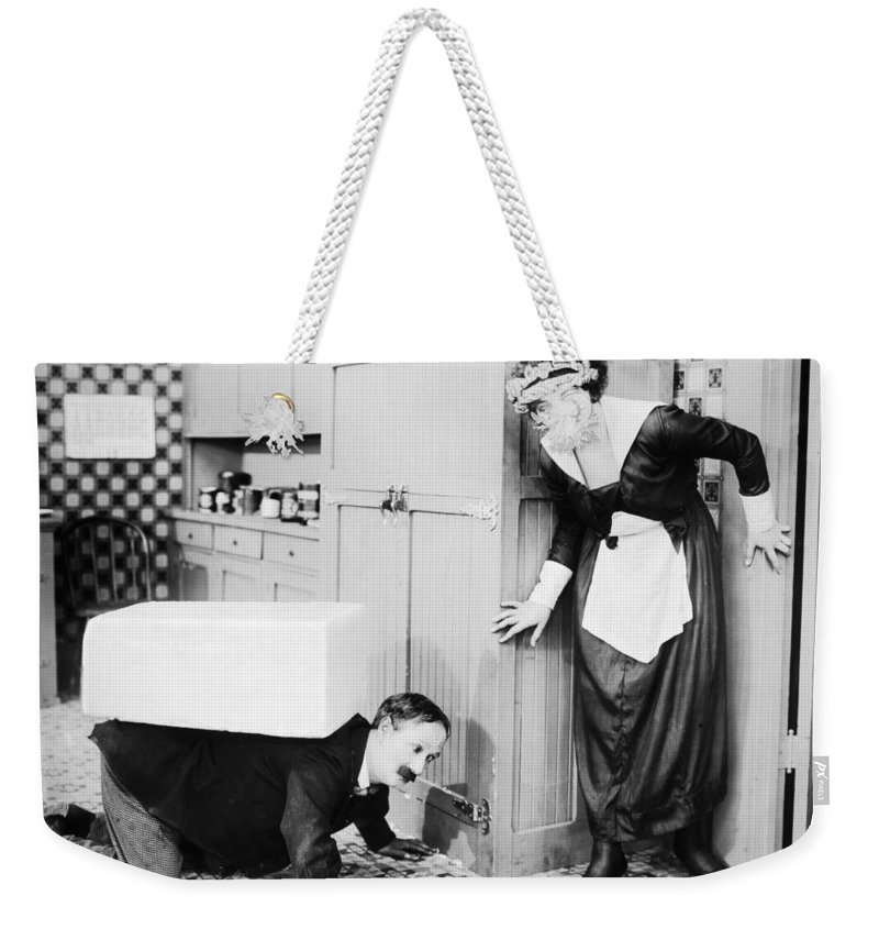-nec11- Weekender Tote Bag featuring the photograph No Mother To Guide Him by Granger