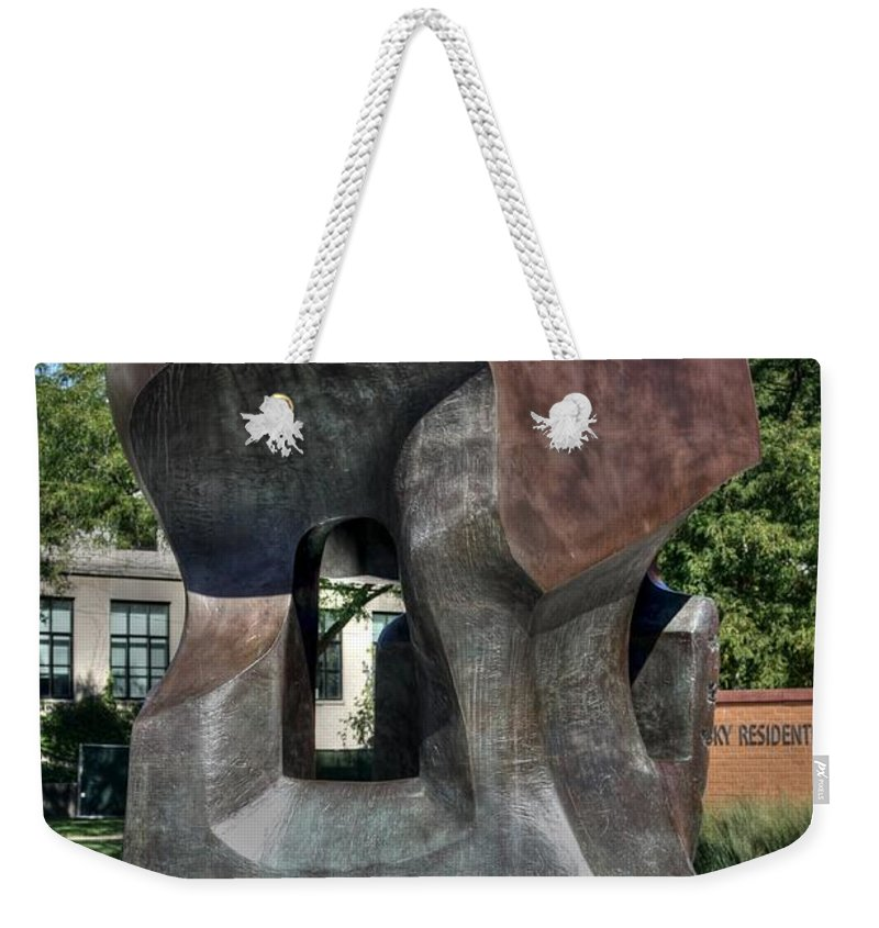 Henry Moore Weekender Tote Bag featuring the photograph Nuclear Energy by David Bearden