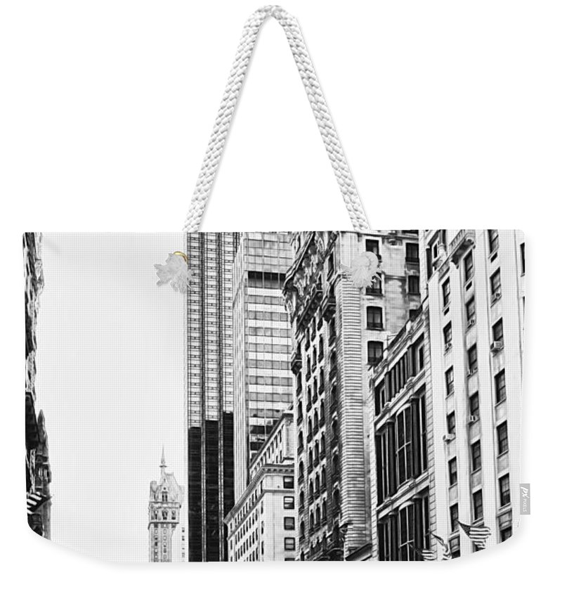 Active Weekender Tote Bag featuring the photograph Nyc080 by Svetlana Sewell