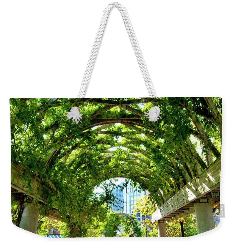 Art Weekender Tote Bag featuring the photograph Oasis by Greg Fortier