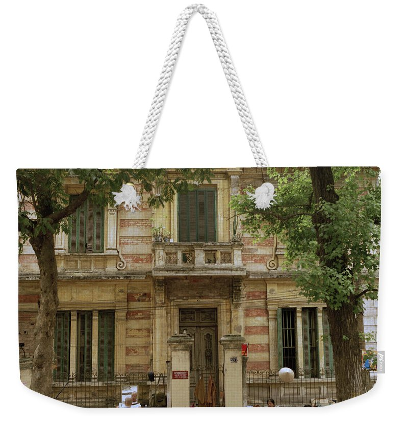 Asia Weekender Tote Bag featuring the photograph Old Fashioned Hanoi by Shaun Higson
