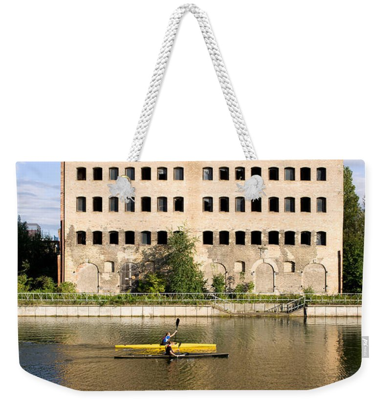 Gdansk Weekender Tote Bag featuring the photograph Old Granary In Gdansk by Artur Bogacki